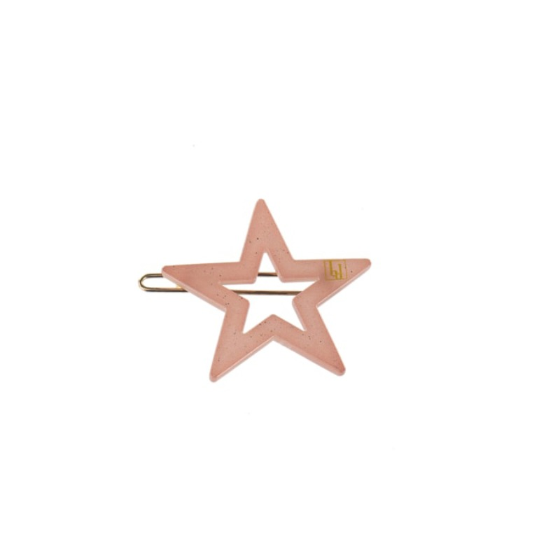 Star clip Pink